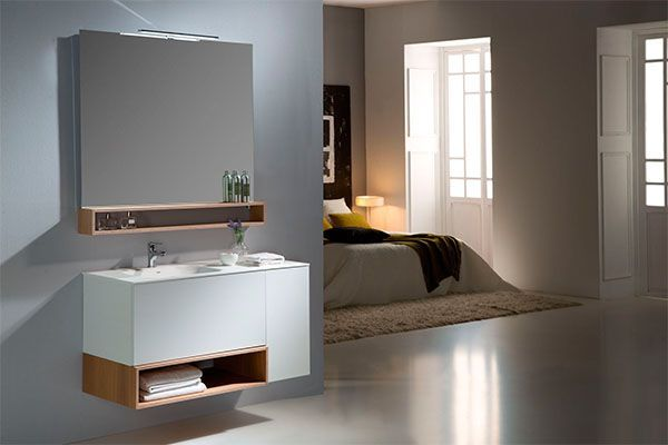 muebles modernos para decorar el bano