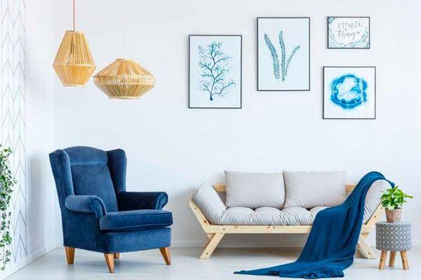 combinar muebles antiguos con modernos
