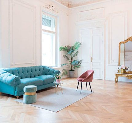 cómo combinar muebles antiguos con modernos